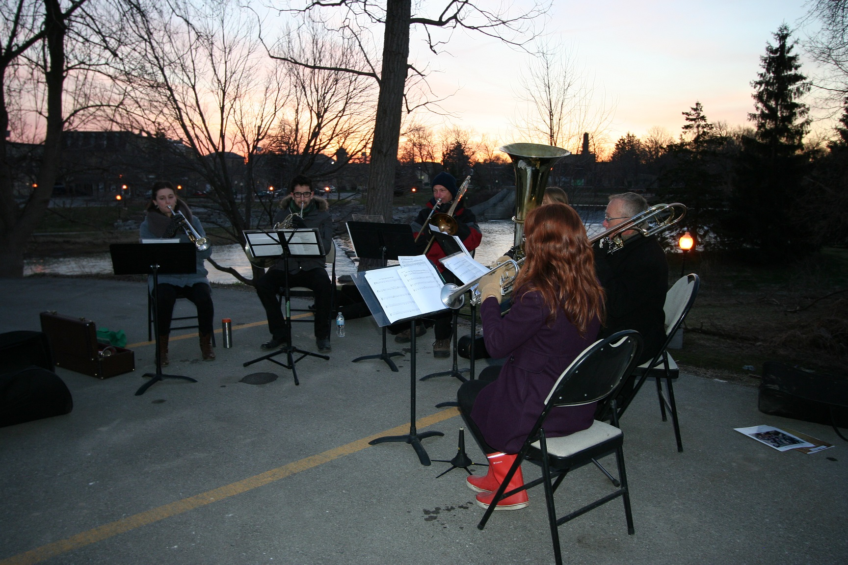 Easter Sunrise Service Chaplain's Brass