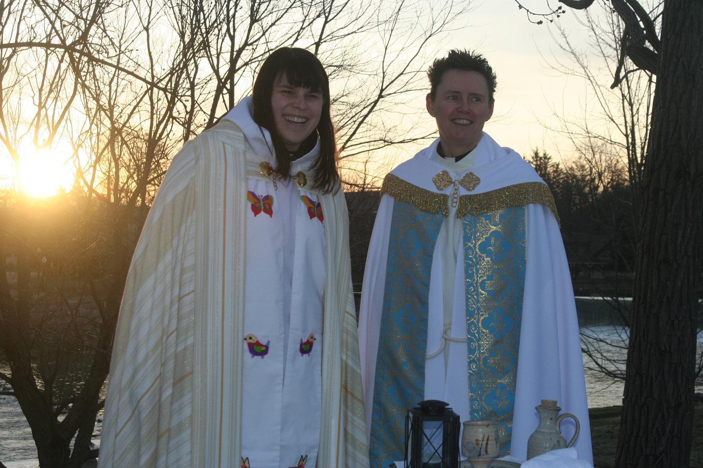 Rev. Margaret & Rev. Anne Anderson