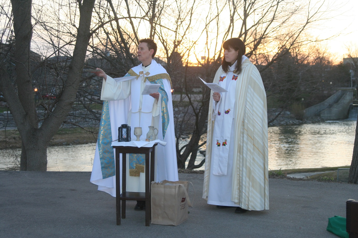 Sunrise Service, Easter 2014