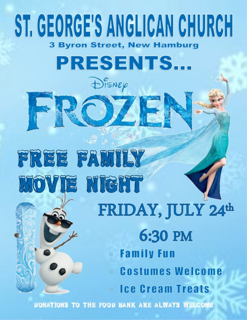 Frozen Movie Night July 2015